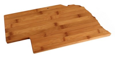Nebraska Bamboo Cutting Board