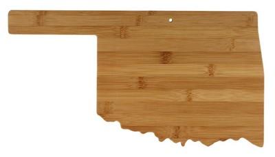 Oklahoma Bamboo Cutting Board