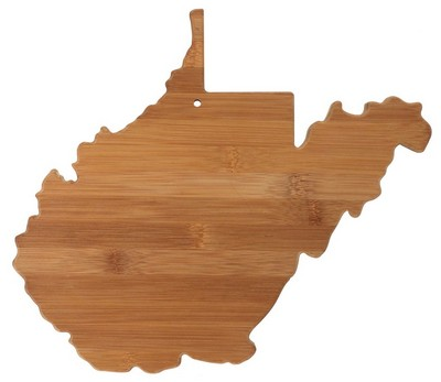 West Virginia Bamboo Cutting Board