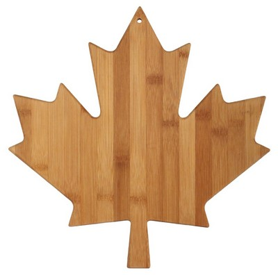 Maple leaf Bamboo Cutting Board