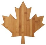 Picture of Maple leaf Bamboo Cutting Board