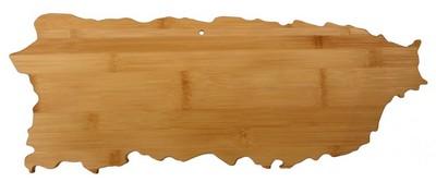 Puerto Rico Bamboo Cutting Board
