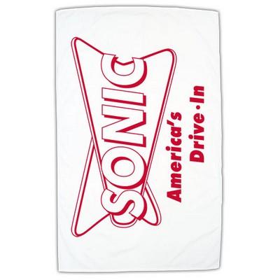 "Bali 35"" x 60"" Midweight Beach Towel (White)"
