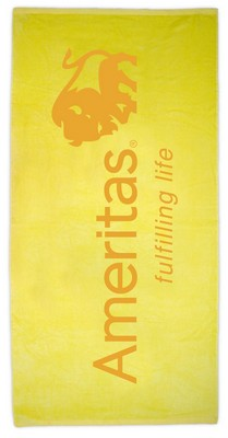 "Basic Weight 30"" x 60"" Beach Towel (Color)"
