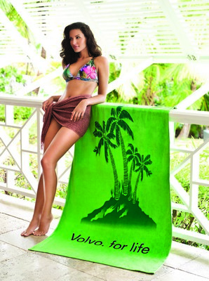 "Turkish Signature Heavyweight 40"" x 40"" Beach Towel (Color)"