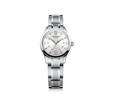 Alliance Watch- Silver Dial Stainless Steel Bracelet