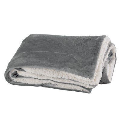 Faux Mink Sherpa Blanket
