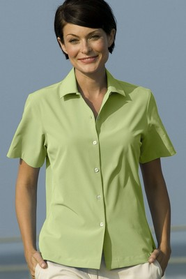 Women's Vansport Woven Camp Shirt