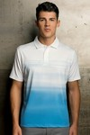 Picture of Men's Vansport Pro Ombré Print Polo