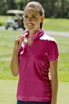 Picture of Women's Vansport Omega Ruched Polo
