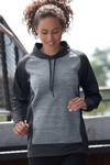 Picture of Women's Vansport Spacedye Blocked Pullover