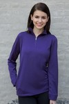 Picture of Women's Vansport Mesh 1/4-Zip Tech Pullover