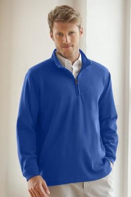 Men's ¼-Zip Flat-Back Rib Pullover
