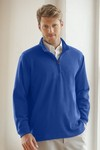 Picture of Men's ¼-Zip Flat-Back Rib Pullover