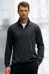Picture of Greg Norman Heathered 1/4-Zip Pullover