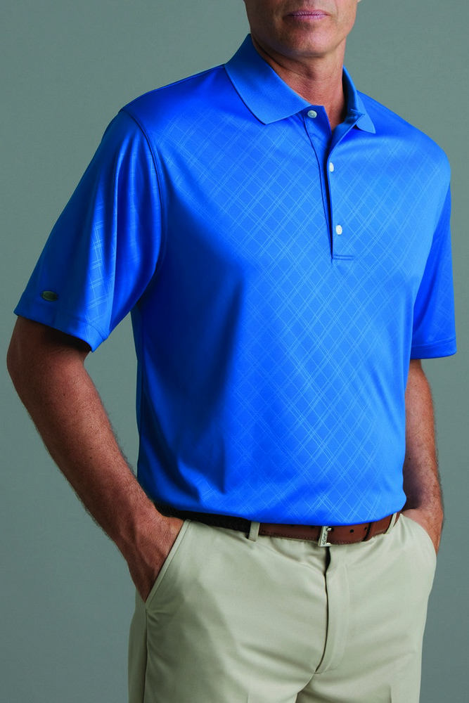 Personalized greg norman mens short sleeve polo shirt for Greg norman ml75 shirts