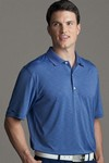 Picture of Greg Norman Play Dry Heather Polo