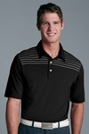 Picture of Greg Norman Men's Short Sleeve Play Dry Engineered Stripe Polo