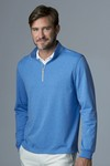 Picture of Greg Norman Men's Heathered 1/4-Zip Pullover Sweater