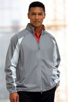 Picture of Greg Norman Full-Zip Pieced Weatherknit Jacket
