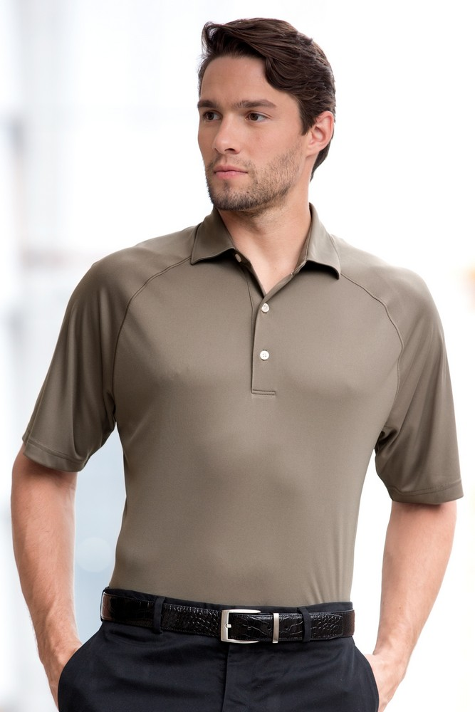 Custom greg norman micro lux solid polo shirt promotion pros for Greg norman ml75 shirts
