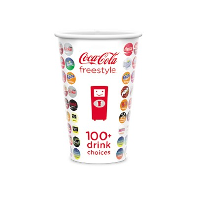 Visstun®-24oz-Heavy Duty Paper Cold Cup-Full Color