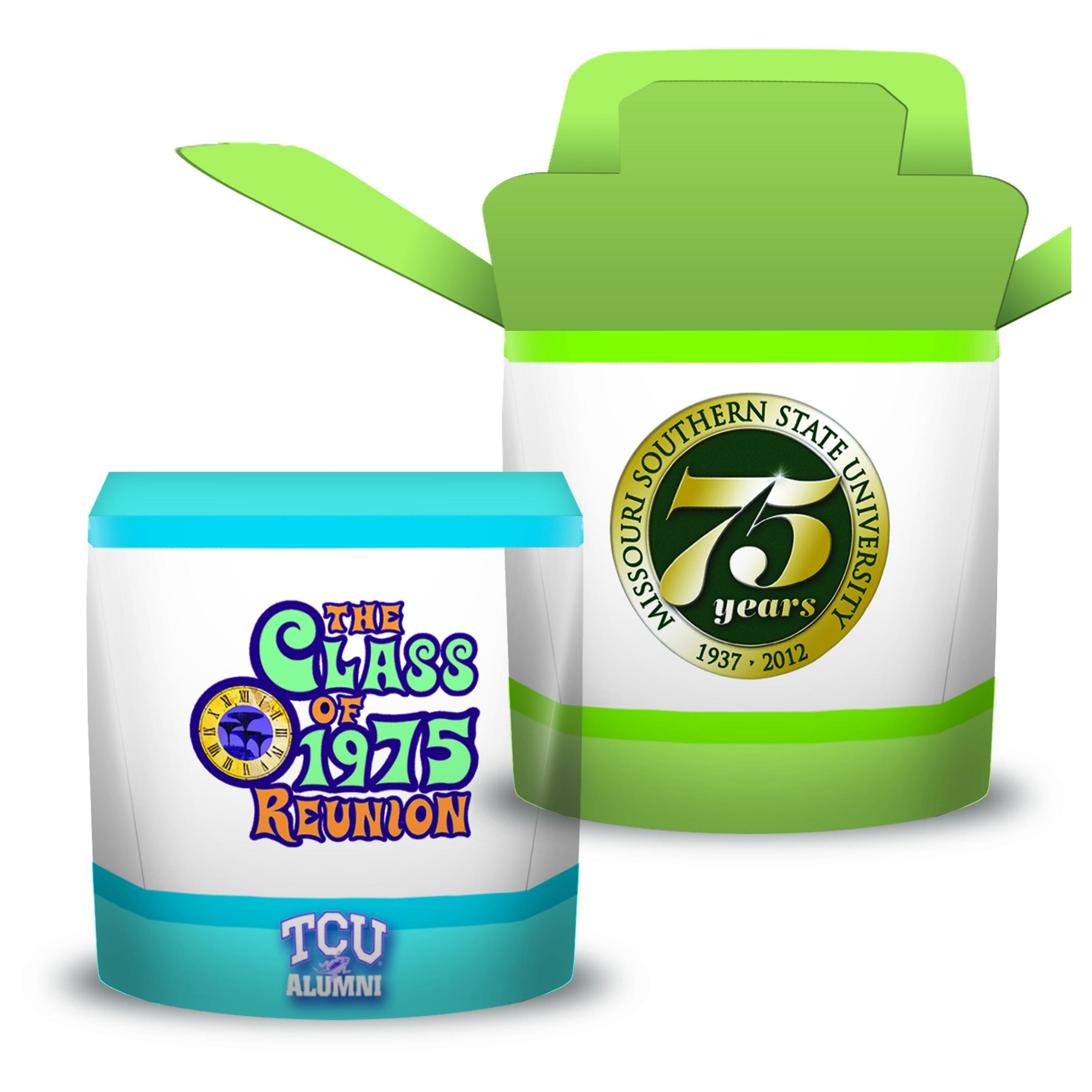 Visstun®-4oz-FoldTop® Gift Box Container-Full Color
