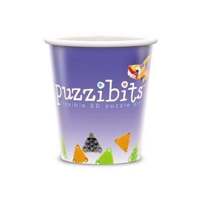 Visstun®-9oz-Reusable White Plastic Cup-Full Color