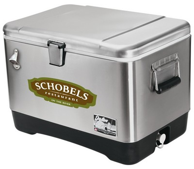 Stainless Steel Igloo Cooler - Full Color Decal