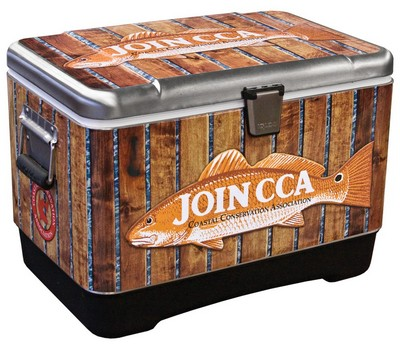 Stainless Steel Igloo Cooler - Full Color Wrap