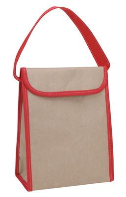V Natural Kraft Lunch Bag