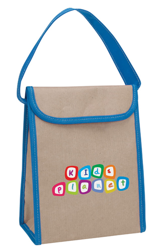 22e5bd27640 Custom Logo V Natural Kraft Lunch Bag - Promotion Pros