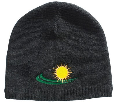 Personalized Embroidered Acrylic/Polar Fleece Beanie