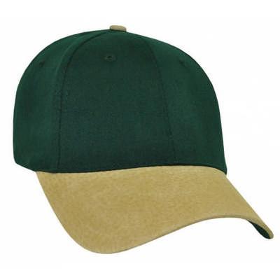Custom Printed Suede Bill Cotton Baseball Cap