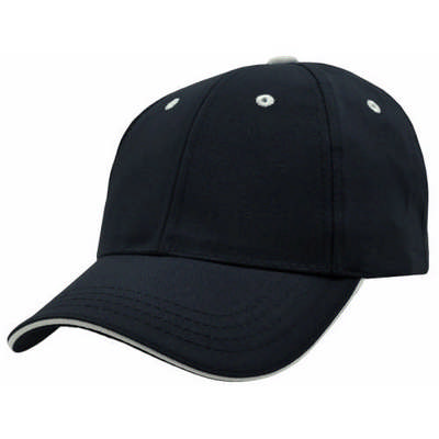 Custom Embroidered Logo 6-Panel Baseball Cap