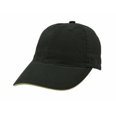 Custom Embroidered Washed Baseball Sandwich Cap