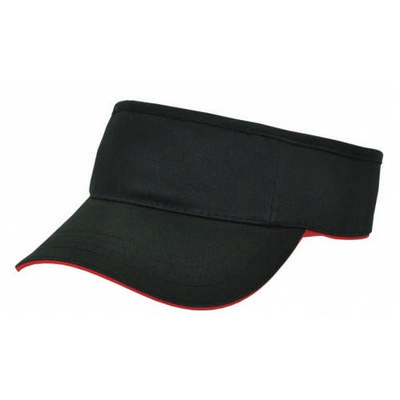 Custom Embroidered Logo Color Trim Visor Cap