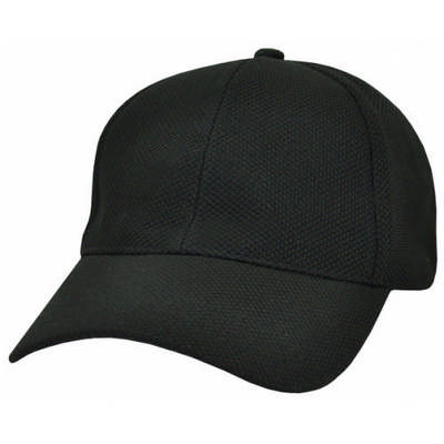 Custom Logo PQ Embroidered Mesh Fitted Baseball Cap