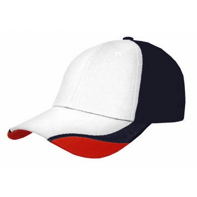 Custom Color Block Contour Corporate Baseball Cap