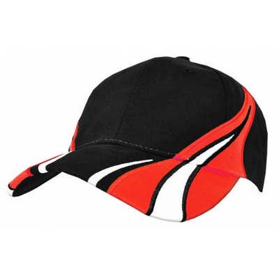 Custom Embroidered Color Block Viper Baseball Cap