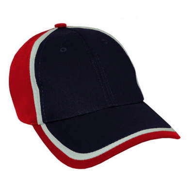 Custom Embroidered HBC Trim Design Baseball Hat