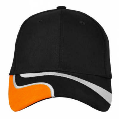 Custom Embroidered Highway Color Block Baseball Cap