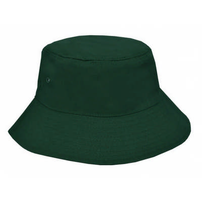 Custom Embroidered Polycotton School Bucket Hat