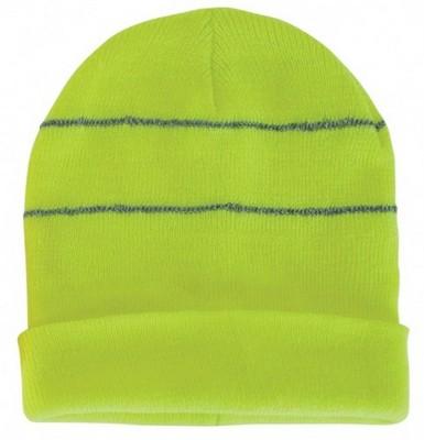 Custom Embroidered Fluroescent Neon Beanie Cap