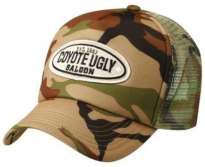 Custom Logo Camouflage Trucker Baseball Hap