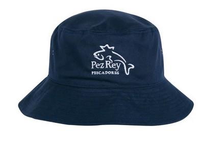 Custom Embroidered Polycotton School Bucket Hat