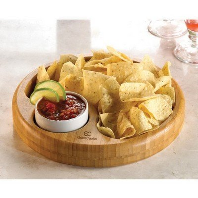 Promotional Bamboo Snack Bowl Set