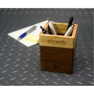 Promotional Bamboo Desk Caddy