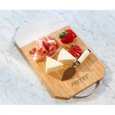Personalised  Elegance Bamboo & Marble Cutting Board