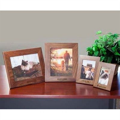 "Customisable Walnut Picture Frame 8.5"" x 11"""